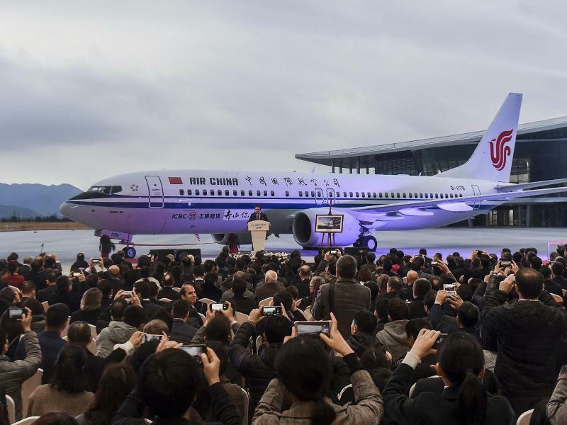 Boeing 737 Max 8 in China - Foto: Xu Yu/Xinhua