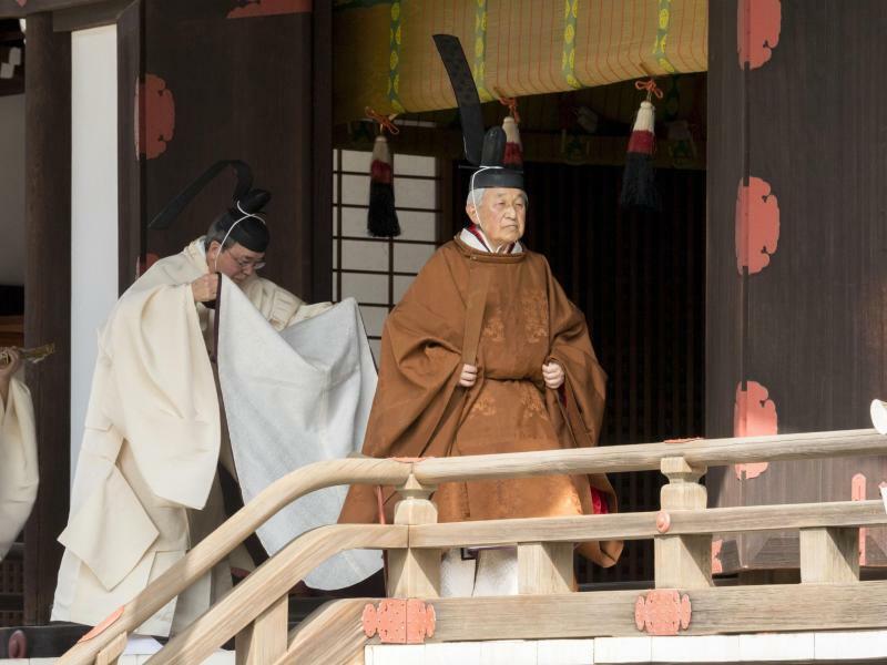 Kaiser Akihito - Foto: Imperial Household Agency of Japan/AP