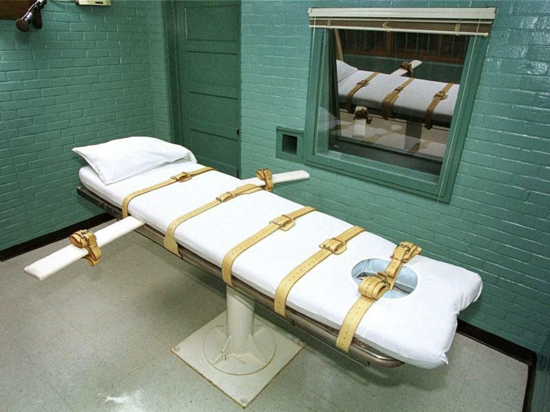 US-Hinrichtungsraum - Foto: Paul Buck