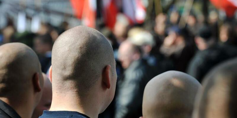 Rechtsextremisten - Foto: Bernd Thissen/Archiv