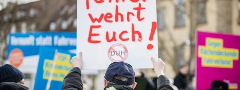 Demo gegen Diesel-Fahrverbote - Foto: Christoph Schmidt