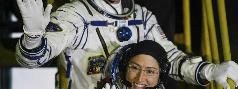 Raumfahrer - Foto: Kyrill Kudryavtsev/AFP POOL/AP