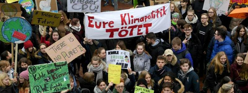 «Fridays for Future»-Demonstration in Elmshorn - Foto: Carsten Rehder