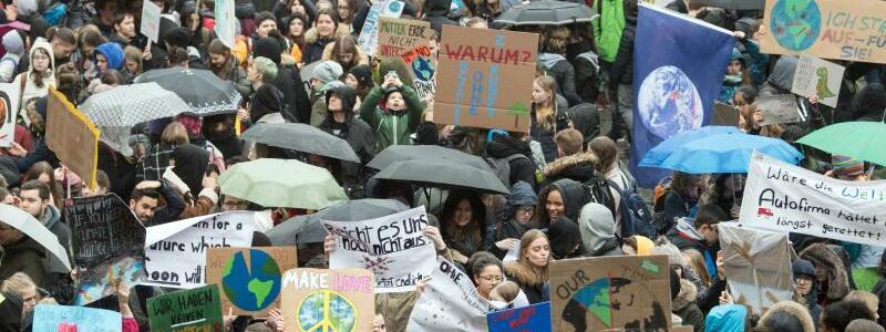 «Fridays for Future»-Demo in der Düsseldorf - Foto: Federico Gambarini