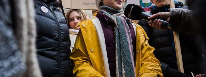 Greta Thunberg bei «Fridays for Future»-Demo in Stockholm - Foto: Maxim Thor/Bildbyran/ZUMA Press