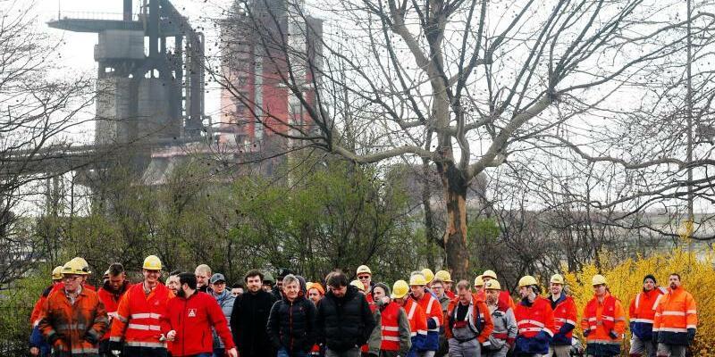 Stahlarbeiter - Foto: Roland Weihrauch