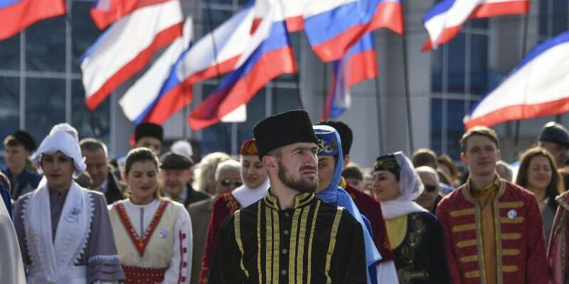 Fünfter Krim-Jahrestag - Foto: Alexey Malgavko