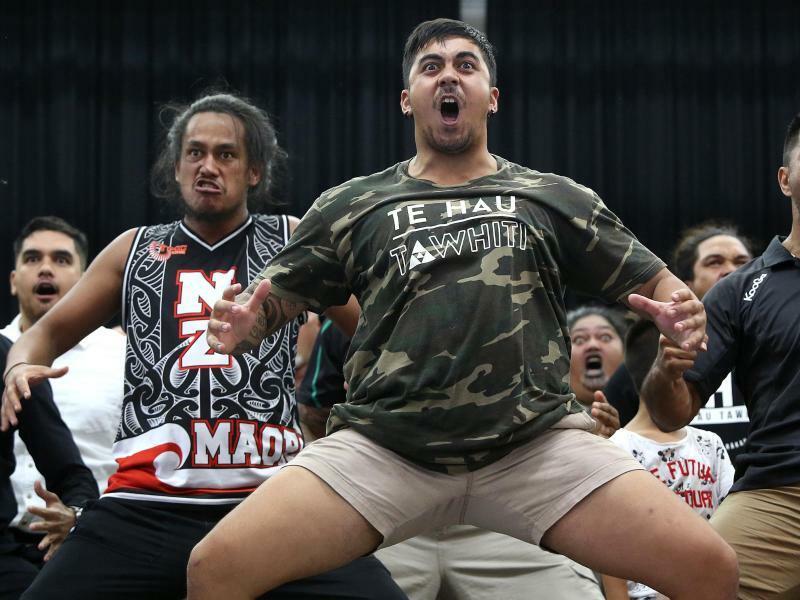 Maori gedenken der  Opfer - Foto: Jono Searle, AAP