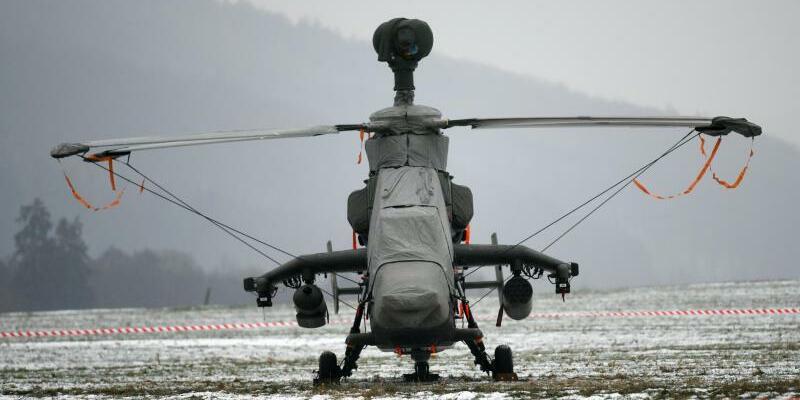 Kampfhubschrauber «Tiger» - Foto: Uwe Zucchi/Archiv