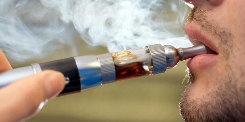 E-Zigarette - Foto: Friso Gentsch