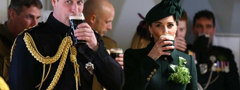 Royals besuchen St. Patrick's Day Parade - Foto: Gareth Fuller