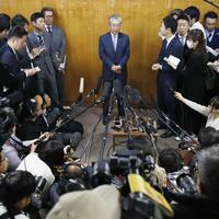 Rücktritt - Foto: kyodo
