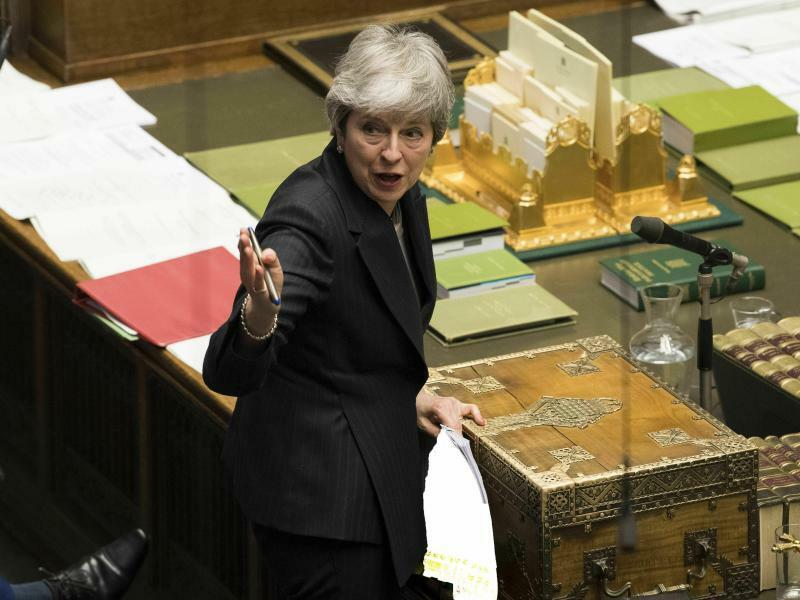Theresa May - Foto: Mark Duffy/UK Parliament/AP