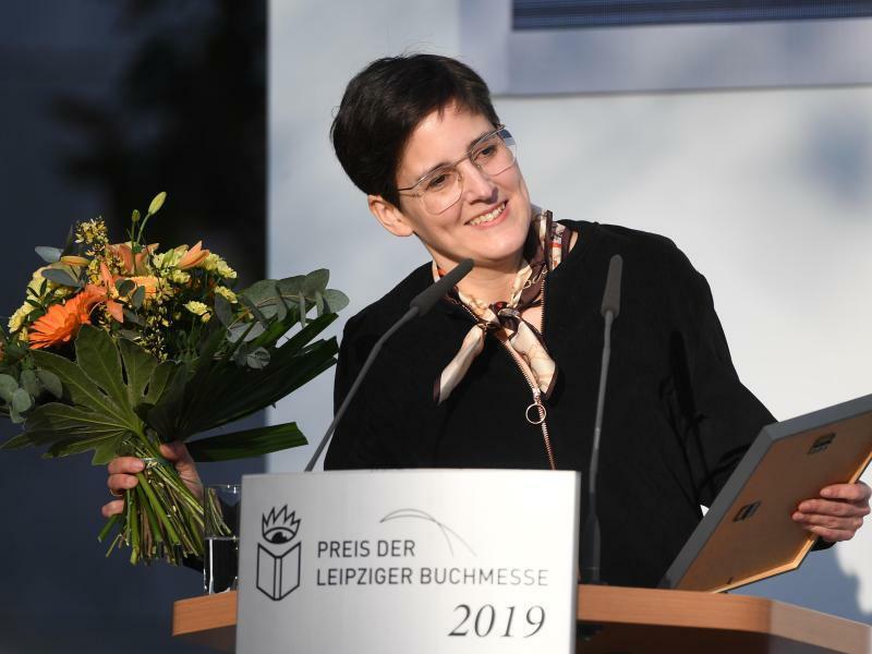 Leipziger Buchmesse - Anke Stelling - Foto: Hendrik Schmidt