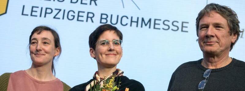 Leipziger Buchmesse - Preisträger - Foto: Hendrik Schmidt