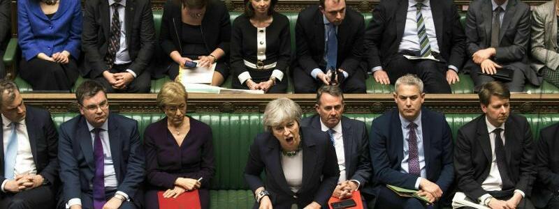 Rede im Parlament - Foto: Mark Duffy/UK Parliament/AP