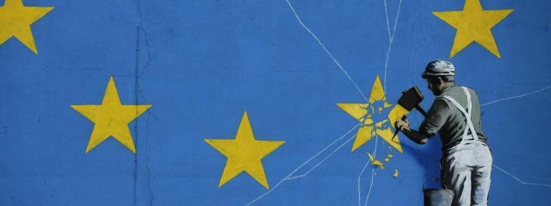 Banksy-Wandbild zum Brexit - Foto: Matt Dunham/AP