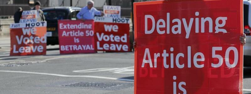 Für den Brexit - Foto: Frank Augstein/AP