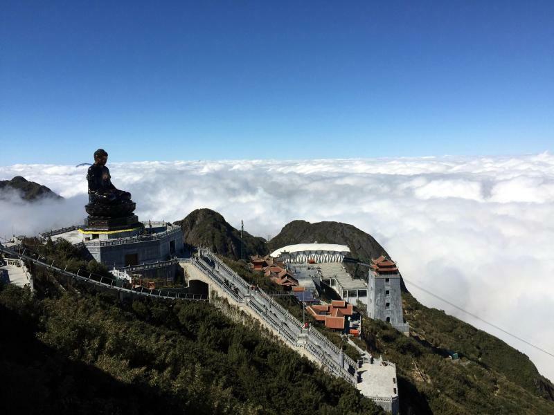 Gipfel-Buddha - Foto: Nurhafizah Tan/BERNAMA