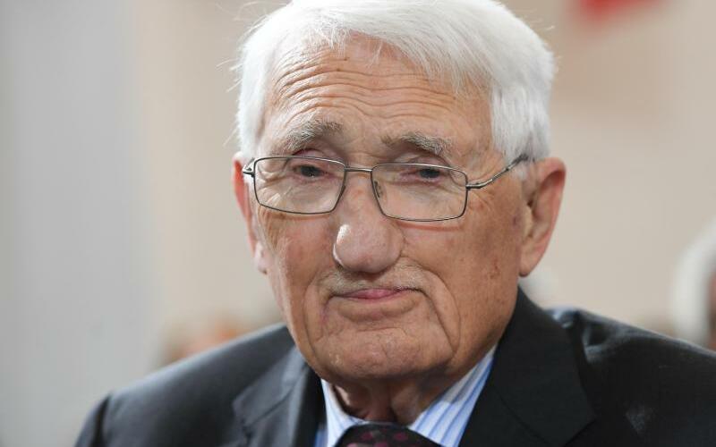 Jürgen Habermas - Foto: Jürgen Habermas gilt als der derzeit bedeutendste Philosoph Deutschlands. Foto:Arne Dedert