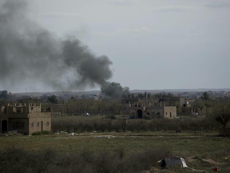 Konflikt in Syrien - Foto: Maya Alleruzzo/AP