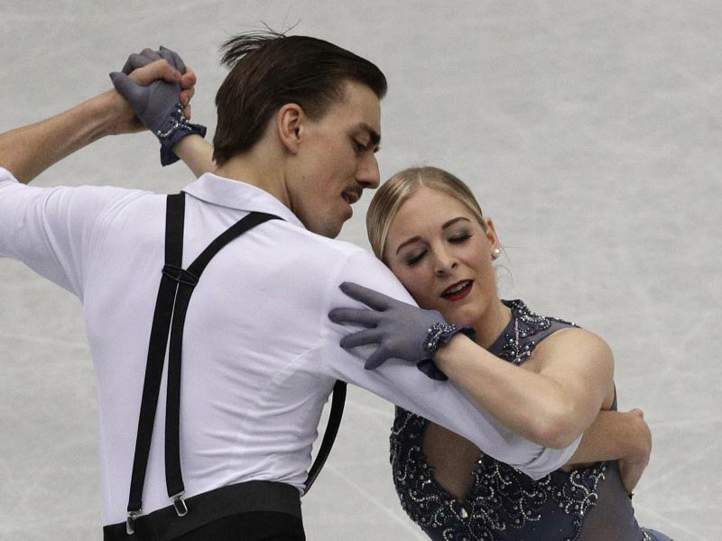 Eistanz - Foto: Andy Wong/AP