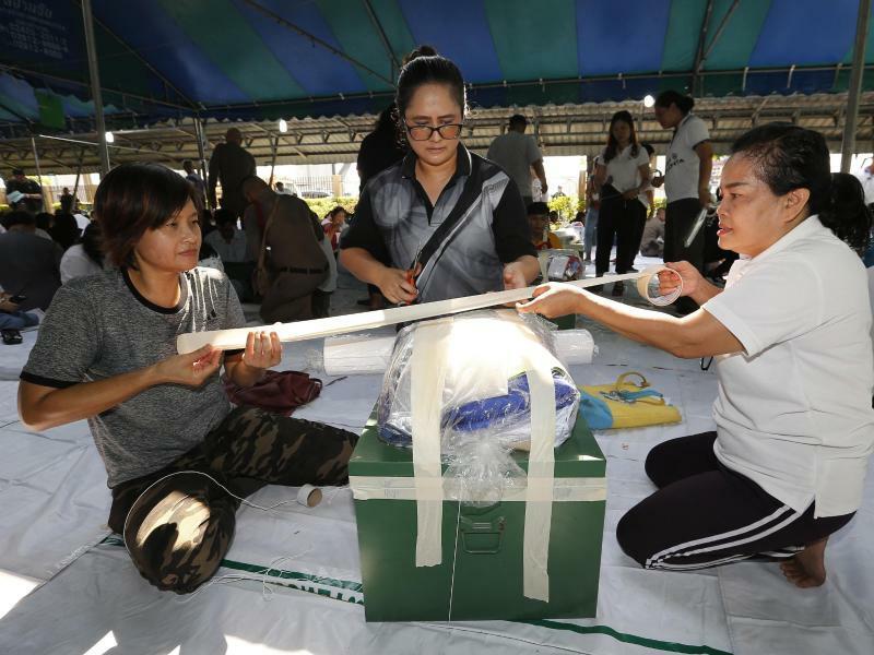 Wahlen in Thailand - Foto: Sakchai Lalit/AP