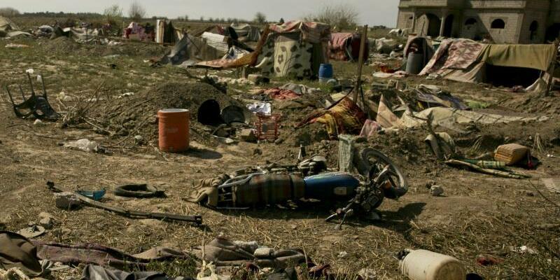 Baghus in Syrien - Foto: Maya Alleruzzo/AP