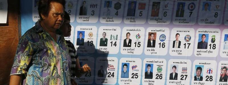 Wahlen in Thailand - Foto: Chaiwat Subprasom/SOPA Images via ZUMA Wire
