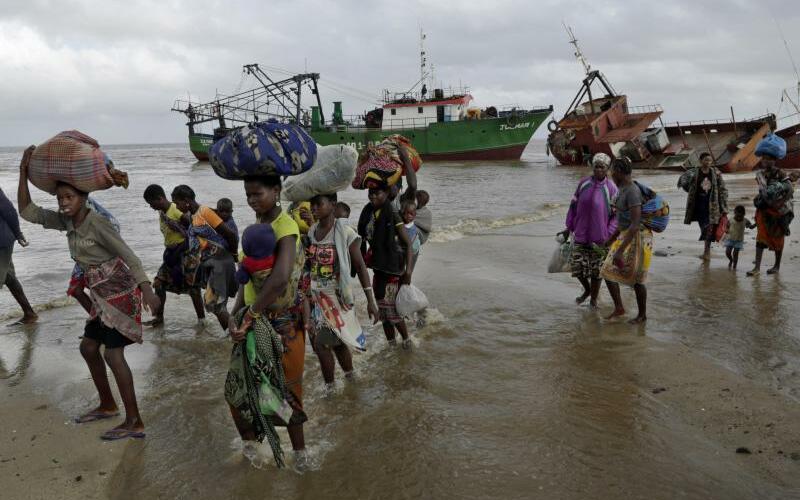 Wirbelsturm «Idai» in Mosambik - Foto: Themba Hadebe/AP
