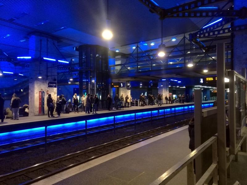 U-Bahnhof Essen Hbf - Foto: über dts Nachrichtenagentur