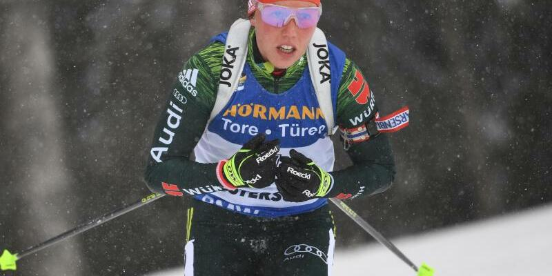 Laura Dahlmeier - Foto: Sven Hoppe