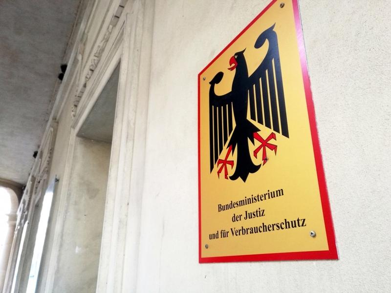 Justizministerium - Foto: über dts Nachrichtenagentur