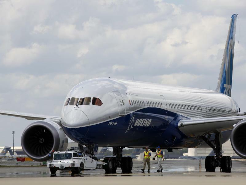 Boeing 787-10 Dreamliner - Foto: Mic Smith/FR2 AP