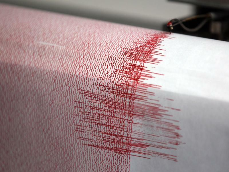 Erdbeben-Seismograph - Foto: Oliver Berg