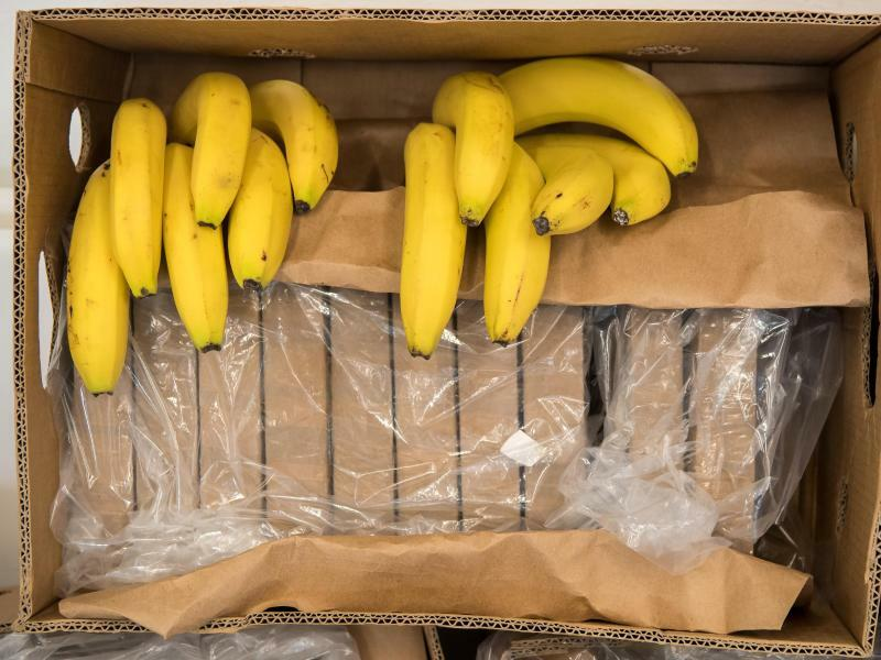 Kokain in Bananenkisten - Foto: Peter Kneffel