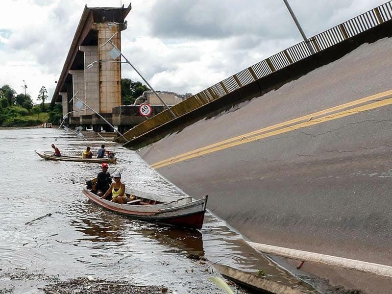 Brücke in Brasilien eingestürzt - Foto: Wagner Santana/Regierung von Para