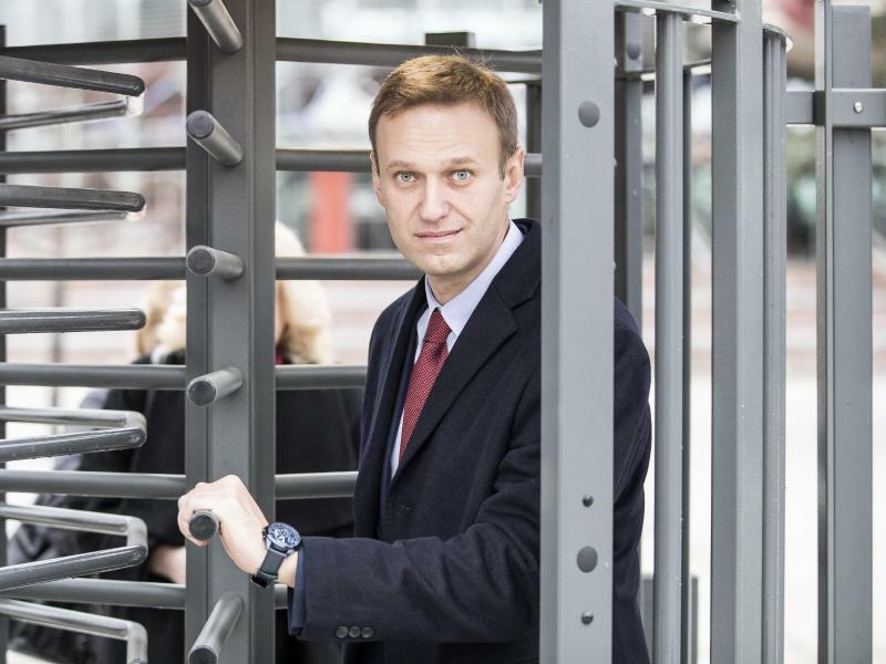 Alexej Nawalny - Foto: Jean-Francois Badias/AP/Archiv