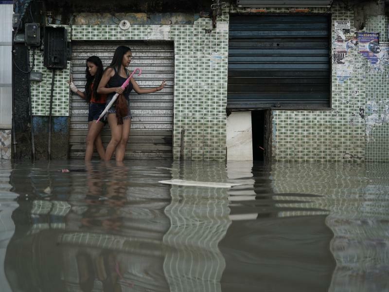 Unwetter in Brasilien - Foto: Leo Correa/AP