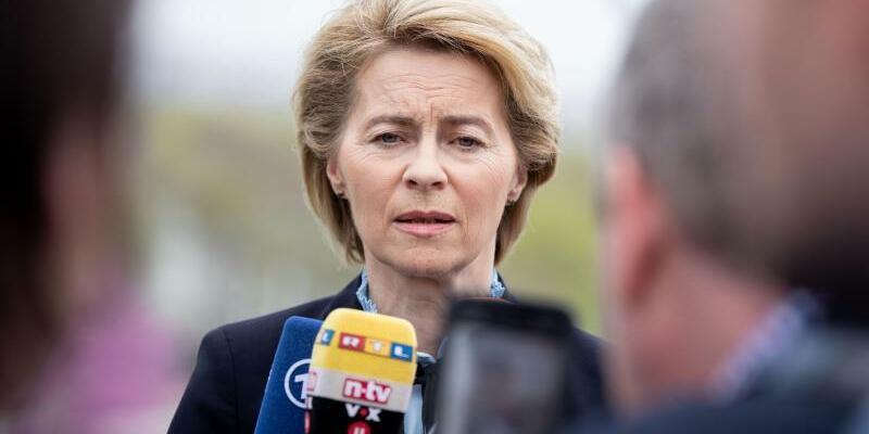 Verteidigungsministerin Ursula von der Leyen - Foto: Kay Nietfeld