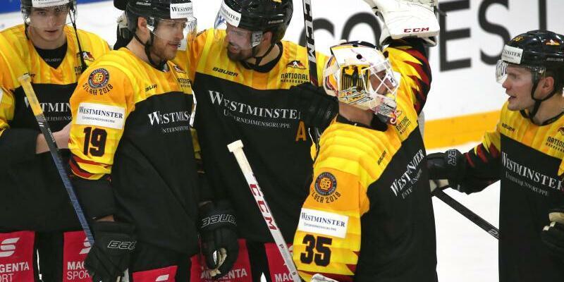 Deutsche Eishockey-Auswahl - Foto: K.-J. Hildenbrand