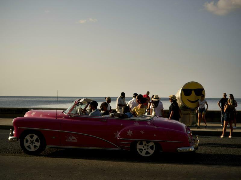 Biennale in Havanna - Foto: Ramon Espinosa/AP