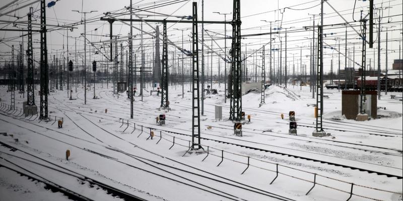 Winter bei der Deutschen Bahn - Foto: über dts Nachrichtenagentur
