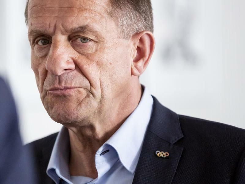 DOSB-Präsident - Foto: Christoph Soeder/dpa
