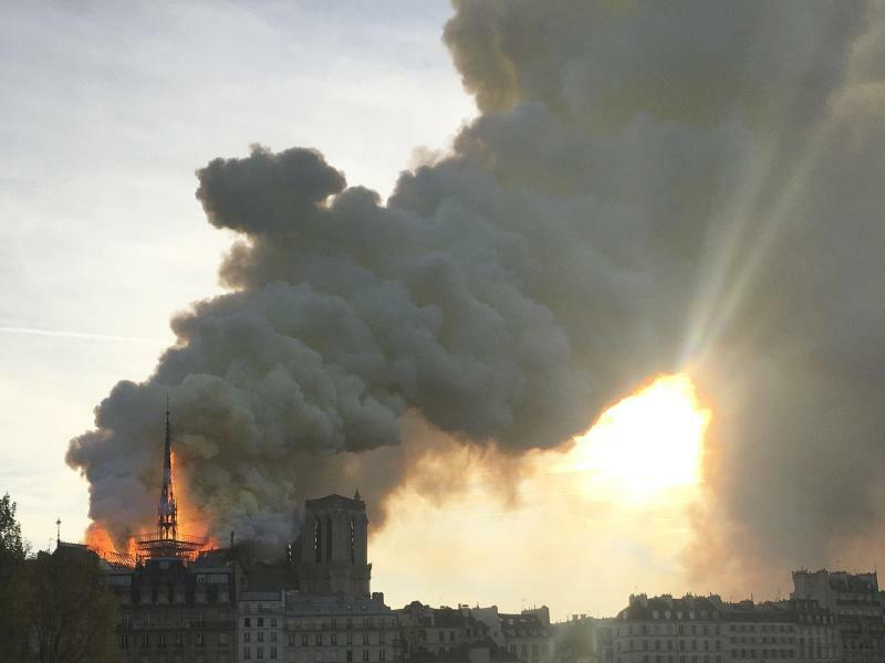 Notre-Dame - Foto: Oleg Cetinic/AP