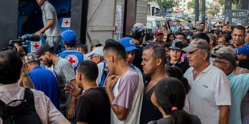 Erste Hilfsgüter in Venezuela - Foto: Ruben Sevilla Brand