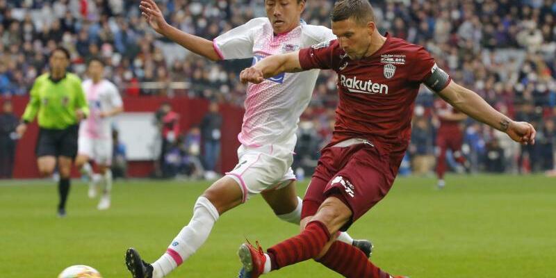 Lukas Podolski - Foto: -/kyodo
