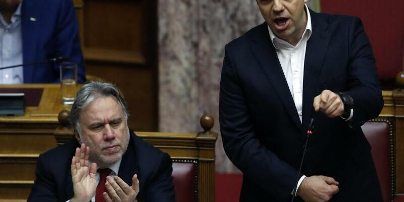 Alexis Tsipras - Foto: Thanassis Stavrakis/AP/Archiv