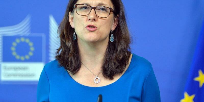 Cecilia Malmström - Foto: Stephanie Lecocq/EPA/dpa