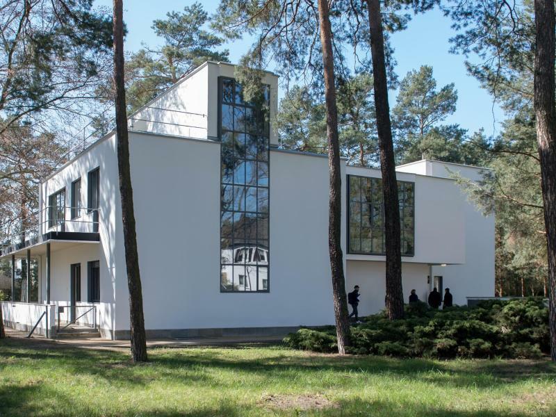 Bauhaus-Stätten in Dessau - Foto: Hendrik Schmidt